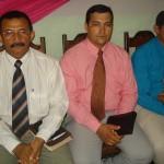 Evangelista Raimundo Amorim, Pb. Weixodo e Pr. João Gomes
