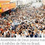 fiéis em todo o Brasil