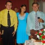 Pastores Deuramar, João Gomes e a debutante Paula
