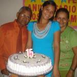 Os pais e a Paula