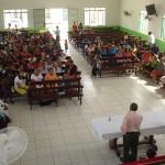 na ministração Pastor Ribamar
