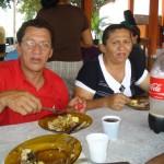 Pastor Fanca e esposa