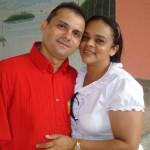 Casal Josias Mouta e missionária Dirciléia