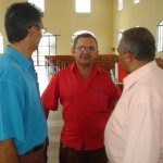 Pastores Nelson, Augusto e Ribamar