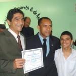 José Marcílio, vereador Antonio e Wendel