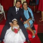 Família Lemos (Pr. Wesley, Miss. Francys e Nicoly Lemos)