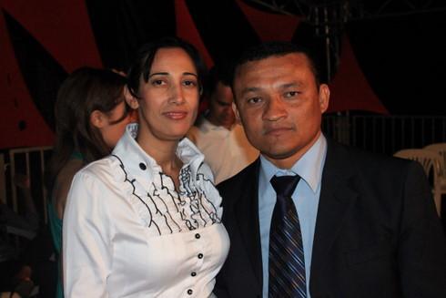 Capitão Carvalho, Capelão Militar e sua esposa Pastora Nevinha