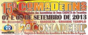 ARAGUATINS: Em setembro pela primeira vez COMADEBIP e COMADETINS juntos, realizam congresso de jovens