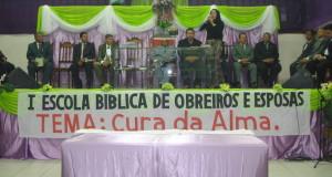 ARAGUATINS: CIADSETA promoveu na AD a 1ª Escola Bíblica para Obreiros e Esposas das áreas 4, 10 e 17