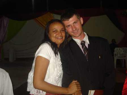 Dirigente: Evangelista Antonio Ricardo Lôff e esposa Irenildes