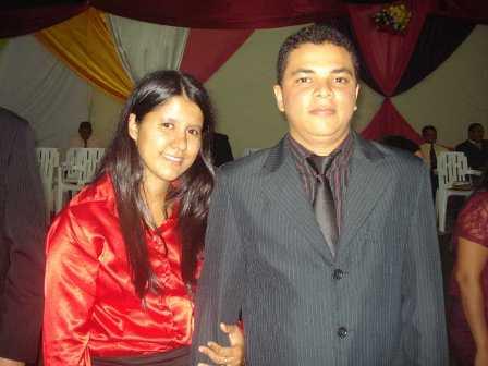 Dirigente: Presbítero Antonio Gomes da Rocha Filho (Maycon) e esposa