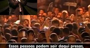 Vídeo – Protesto gay invade culto de 85 anos da AD em Santarém