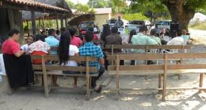 ARAGUATINS: Alunos da Escola Bíblica Dominical do templo sede, reforçaram os trabalhos da AD no povoado Taquarizinho