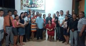 ARAGUATINS: Departamento de Mocidade da AD CIADSETA realiza visita ao pastor Ribamar em sua residência. Confira.