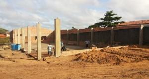 AD CIADSETA em Araguatins avança na construção do refeitório. Mutirão aconteceu na manhã deste sábado (17)