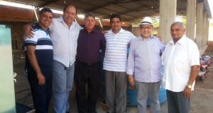 ARAGUATINS: Pr. Paulo Martins Neto, Presidente da CIADSETA-TO visita as instalações da AD onde acontecerão os trabalhos da 69ª AGO