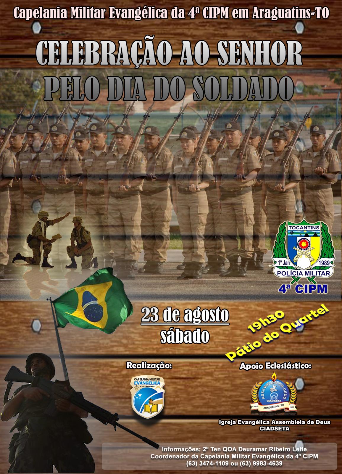 Banner Dia do Soldado