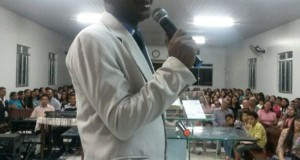 ARAGUATINS/TO: Pastor Israel Brasil ministrou na Congregação Monte Horebe.