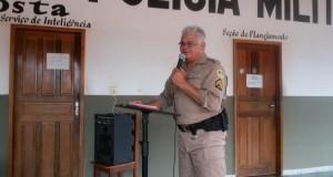 Pastor Sousa foi o ministrante na Capelania Militar Evangélica; veja vídeo