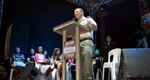 """GURUPI (TO): PM realiza celebração em Ação de Graças Pelo """"Dia do Soldado"""" com a participação do Anderson Freire. CONFIRA"""