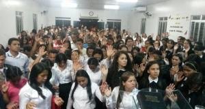ARAGUATINS: Congregação Monte Horebe realizou festa de Mocidade e Círculo de Oração