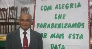 ARAGUATINS: Assembleia de Deus homenageia pastor Ribamar pela passagem de seu aniversário. CONFIRA.