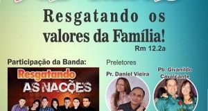 ARAGUATINS: Departamento da Família promoverá agora em setembro, congresso de família. CONFIRA.