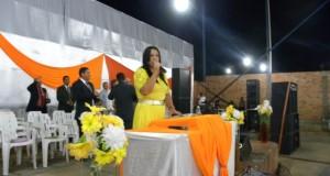 ARAGUATINS: Congregação Monte Horebe da AD CIADSETA cumpre agenda e realiza Quarta de Adoração. Lucely Uchôa marcou presença.