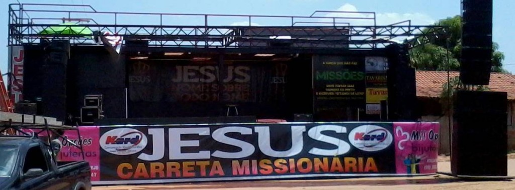carreta missionária