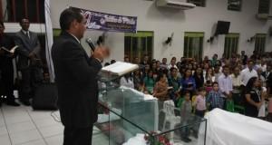 ARAGUATINS: Culto na AD CIADSETA teve como ministrante o Pr. Hildeberto Moreno de Imperatriz (MA)