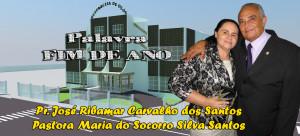 ARAGUATINS: Pastor José Ribamar e esposa da AD CIADSETA gravam vídeo com mensagem de fim de ano. CONFIRA.