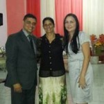 Pr Humberto, Cantora Aurenice e Miss Vânia.