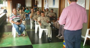 ARAGUATINS: Capelania Militar Evangélica da 4ª CIPM promoveu celebração nesta segunda. Evangelista Elvis foi o ministrante