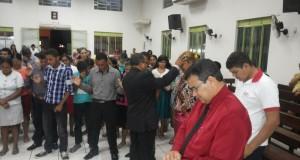 Culto de sexta-feira no templo da AD CIADSETA em Araguatins, contou com a presença do pastor Torres da AD de Marabá (PA)