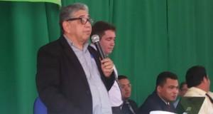 Pastor Paulo Martins Neto, líder da CIADSETA, participou de reunião de área em Palmeiras (TO). Pastor Ribamar de Araguatins esteve presente