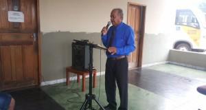 ARAGUATINS: Pastor Nelson Gonçalves da AD CIADSETA, ministrou no culto da Capelania Militar Evangélica na manhã desta segunda-feira