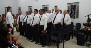 ARAGUATINS: Congregação Monte Moriá da AD CIADSETA, comemora o 3º aniversário do Círculo de Oração Masculino
