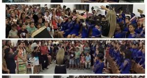 BREJO GRANDE DO ARAGUAIA: Mocidade realizou Congresso