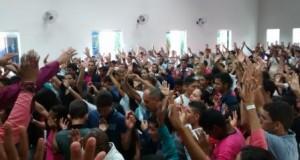SÃO SEBASTIÃO: Juventude se confraternizou no XIX COMADEBIP