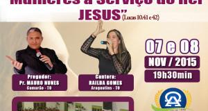 ARAGUATINS: Departamento do Círculo de Oração Heroínas da Fé da AD CIADSETA, comemorara seu 33º aniversário. CONFIRA