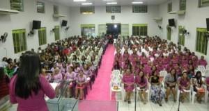 ARAGUATINS: Círculo de Oração Heroínas da Fé na AD Araguatins realizou 33º Congresso.