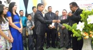 AÇAILÂNDIA: Em grande festa Pastor Humberto Santana toma posse na AD CIADSETA.