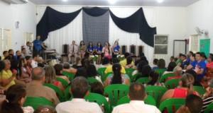ARAGUATINS: Congregação Betel comemorou 7º Aniversario de Criação da Tarde da Bênção