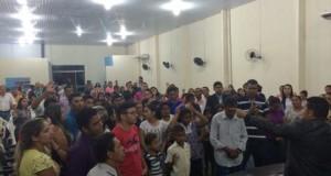 AÇAILÂNDIA: Aconteceu na CIADSETA mais uma sexta de adoração