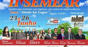 SÃO BENTO: Assembleia de Deus CIADSETA realiza abertura do II SEMEAR e tem pastor Paulo Martins como ministrante