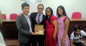AXIXÁ: Pastor Geovan Santiago da Assembleia de Deus CIADSETA recebe credencial da OAB do Tocantins