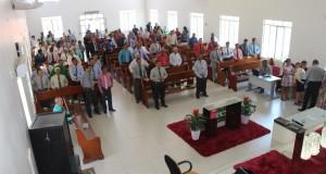 AUGUSTINÓPOLIS: Pastores e esposas das Assembleias de Deus da 4ª área da CIADSETA, se reuniram na manhã deste sábado