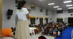 ARAGUATINS: Departamento de crianças da AD CIADSETA promoveu confraternização
