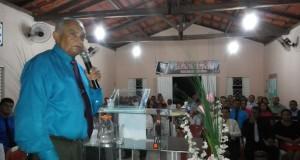 ARAGUATINS: Pastor Ribamar realiza reunião de ministério na congregação Filadélfia