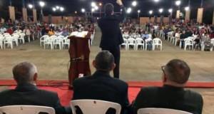 ARAGUATINS: Secretaria de Missão da Assembleia de Deus realizou evento e 110 vidas aceitaram a Jesus